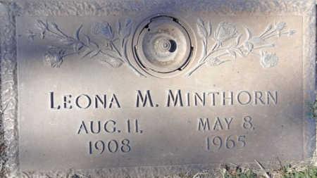 MINTHORN, LEONA MARGARET - Yavapai County, Arizona   LEONA MARGARET MINTHORN - Arizona Gravestone Photos