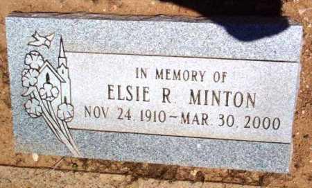 MINTON, ELSIE R. - Yavapai County, Arizona | ELSIE R. MINTON - Arizona Gravestone Photos