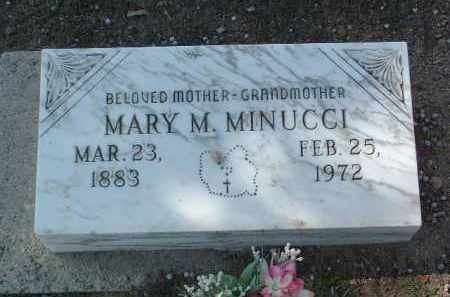 MINUCCI, MARY M. - Yavapai County, Arizona | MARY M. MINUCCI - Arizona Gravestone Photos