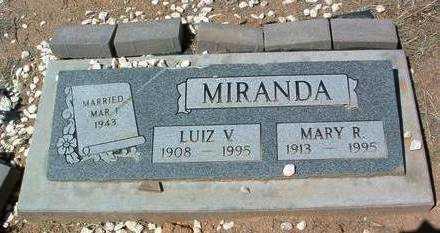 MELLO MIRANDA, MARY R. - Yavapai County, Arizona | MARY R. MELLO MIRANDA - Arizona Gravestone Photos