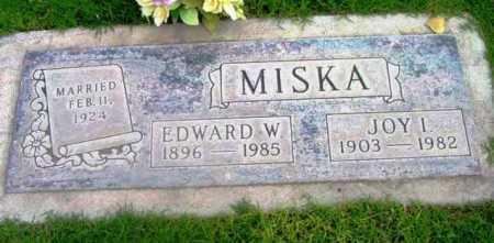 MISKA, EDWARD WILLIAM - Yavapai County, Arizona | EDWARD WILLIAM MISKA - Arizona Gravestone Photos