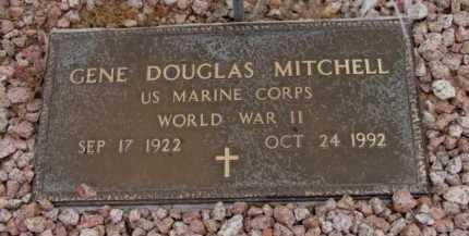 MITCHELL, GENE DOUGLAS - Yavapai County, Arizona   GENE DOUGLAS MITCHELL - Arizona Gravestone Photos