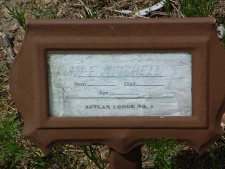MITCHELL, LEROY F. - Yavapai County, Arizona | LEROY F. MITCHELL - Arizona Gravestone Photos