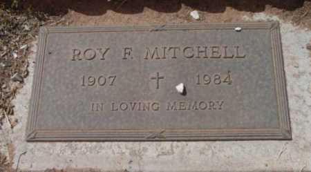 MITCHELL, ROY F. - Yavapai County, Arizona | ROY F. MITCHELL - Arizona Gravestone Photos