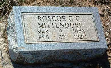 MITTENDORF, ROSCO CLIFTON - Yavapai County, Arizona | ROSCO CLIFTON MITTENDORF - Arizona Gravestone Photos