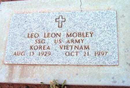 MOBLEY, LEO LEON - Yavapai County, Arizona | LEO LEON MOBLEY - Arizona Gravestone Photos