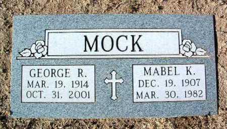 MOCK, MABEL KATHERINE - Yavapai County, Arizona | MABEL KATHERINE MOCK - Arizona Gravestone Photos