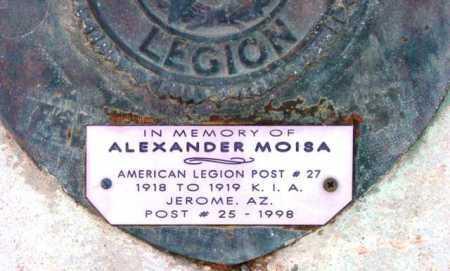 MOISA, ALEXANDER - Yavapai County, Arizona | ALEXANDER MOISA - Arizona Gravestone Photos