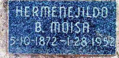MOISA, HERMENEJILDO B. - Yavapai County, Arizona | HERMENEJILDO B. MOISA - Arizona Gravestone Photos
