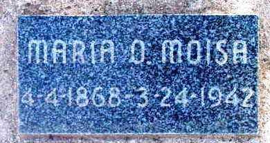 MOISA, MARIA O. - Yavapai County, Arizona | MARIA O. MOISA - Arizona Gravestone Photos