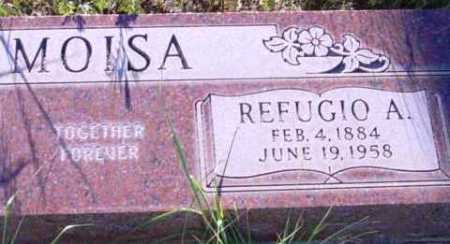 MOISA, REFUGIO A. - Yavapai County, Arizona | REFUGIO A. MOISA - Arizona Gravestone Photos