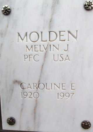POLLAK MOLDEN, CAROLINE E. - Yavapai County, Arizona | CAROLINE E. POLLAK MOLDEN - Arizona Gravestone Photos