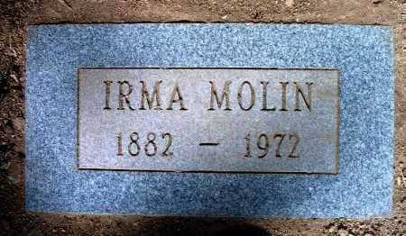 MOLIN, IRMA - Yavapai County, Arizona | IRMA MOLIN - Arizona Gravestone Photos