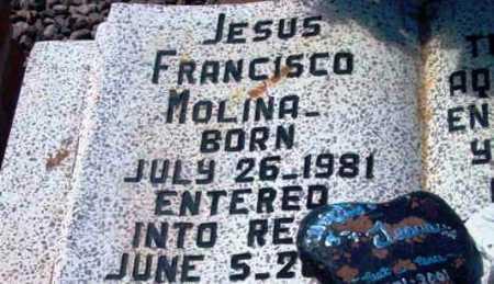 MOLINA, JESUS FRANCISCO - Yavapai County, Arizona   JESUS FRANCISCO MOLINA - Arizona Gravestone Photos