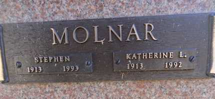 MOLNAR, KATHERINE L. - Yavapai County, Arizona   KATHERINE L. MOLNAR - Arizona Gravestone Photos