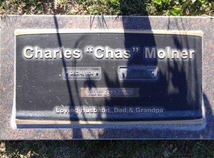 MOLNER, CHARLES (CHAS) - Yavapai County, Arizona | CHARLES (CHAS) MOLNER - Arizona Gravestone Photos