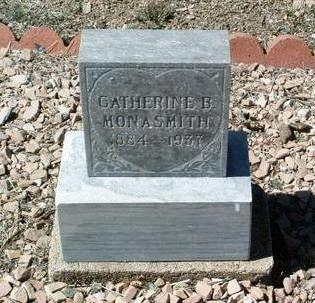 WORTHINGTON MONASMITH, CATHEINE - Yavapai County, Arizona | CATHEINE WORTHINGTON MONASMITH - Arizona Gravestone Photos