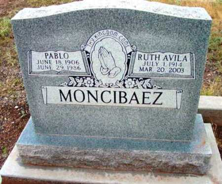 AVILA MONCIBAEZ, RUTH A. - Yavapai County, Arizona | RUTH A. AVILA MONCIBAEZ - Arizona Gravestone Photos