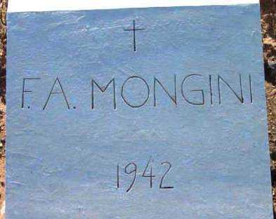 MONGINI, FRANK A. - Yavapai County, Arizona | FRANK A. MONGINI - Arizona Gravestone Photos