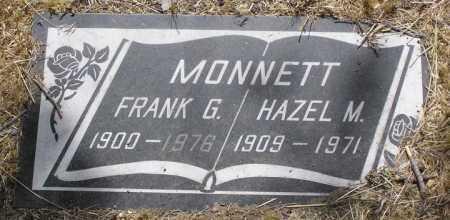MONNETT, FRANCIS GILBERT (FRANK) - Yavapai County, Arizona | FRANCIS GILBERT (FRANK) MONNETT - Arizona Gravestone Photos