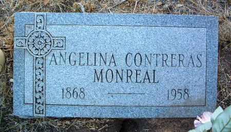 CONTRERAS MONREAL, ANGELINA - Yavapai County, Arizona | ANGELINA CONTRERAS MONREAL - Arizona Gravestone Photos