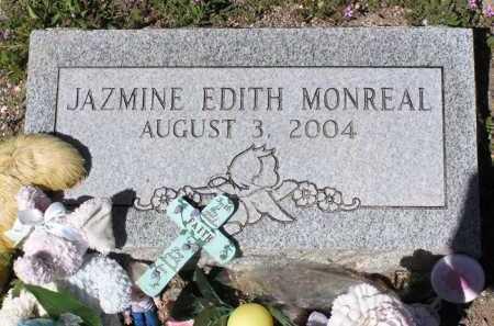 MONREAL, JAZMINE EDITH - Yavapai County, Arizona | JAZMINE EDITH MONREAL - Arizona Gravestone Photos