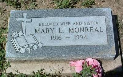 MONREAL, MARY LORETTA - Yavapai County, Arizona   MARY LORETTA MONREAL - Arizona Gravestone Photos
