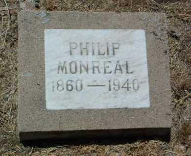 MONREAL, PHILIP - Yavapai County, Arizona   PHILIP MONREAL - Arizona Gravestone Photos