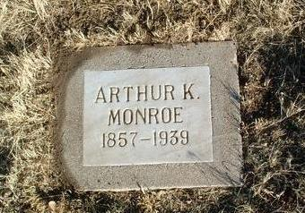 MONROE, ARTHUR K. - Yavapai County, Arizona | ARTHUR K. MONROE - Arizona Gravestone Photos