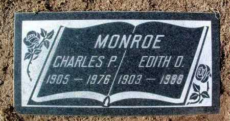 DANIEL MONROE, EDITH M. - Yavapai County, Arizona | EDITH M. DANIEL MONROE - Arizona Gravestone Photos