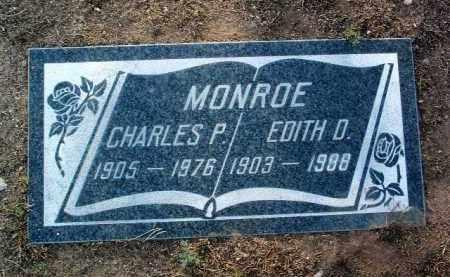MONROE, CHARLES P. - Yavapai County, Arizona | CHARLES P. MONROE - Arizona Gravestone Photos