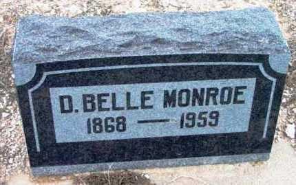 MONROE, DORCUS BELLE - Yavapai County, Arizona | DORCUS BELLE MONROE - Arizona Gravestone Photos