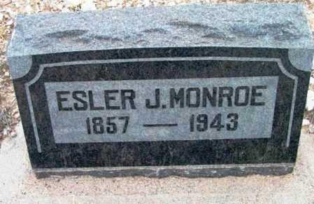 MONROE, ESLER JOSIAH - Yavapai County, Arizona | ESLER JOSIAH MONROE - Arizona Gravestone Photos