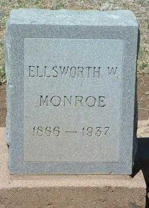MONROE, ELLSWORTH WM. - Yavapai County, Arizona | ELLSWORTH WM. MONROE - Arizona Gravestone Photos