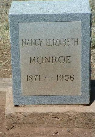 MONROE, NANCY ELIZABETH - Yavapai County, Arizona | NANCY ELIZABETH MONROE - Arizona Gravestone Photos