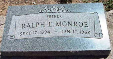 MONROE, RALPH ESLER, SR. - Yavapai County, Arizona | RALPH ESLER, SR. MONROE - Arizona Gravestone Photos