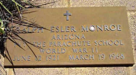 MONROE, RALPH ESLER, JR. - Yavapai County, Arizona | RALPH ESLER, JR. MONROE - Arizona Gravestone Photos