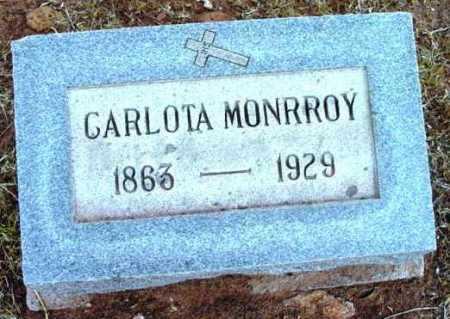 MONRROY, CARLOTA - Yavapai County, Arizona | CARLOTA MONRROY - Arizona Gravestone Photos