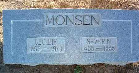JOHANSEN MONSEN, CECILIE - Yavapai County, Arizona   CECILIE JOHANSEN MONSEN - Arizona Gravestone Photos