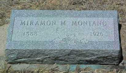 MONTANO, MIRAMON M. - Yavapai County, Arizona | MIRAMON M. MONTANO - Arizona Gravestone Photos