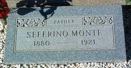 MONTE, SEFERINO - Yavapai County, Arizona | SEFERINO MONTE - Arizona Gravestone Photos