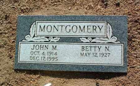 MONTGOMERY, BETTY NELL - Yavapai County, Arizona | BETTY NELL MONTGOMERY - Arizona Gravestone Photos
