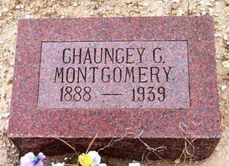 MONTGOMERY, CHAUNCEY - Yavapai County, Arizona | CHAUNCEY MONTGOMERY - Arizona Gravestone Photos