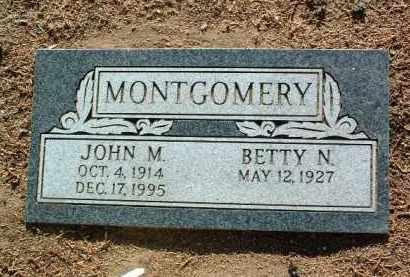 MONTGOMERY, JOHN M. - Yavapai County, Arizona   JOHN M. MONTGOMERY - Arizona Gravestone Photos