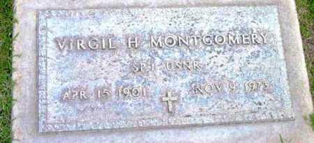 MONTGOMERY, VIRGIL H. - Yavapai County, Arizona | VIRGIL H. MONTGOMERY - Arizona Gravestone Photos