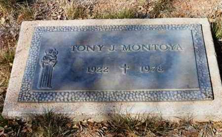 MONTOYA, ANTONIO J.  (TONY) - Yavapai County, Arizona   ANTONIO J.  (TONY) MONTOYA - Arizona Gravestone Photos