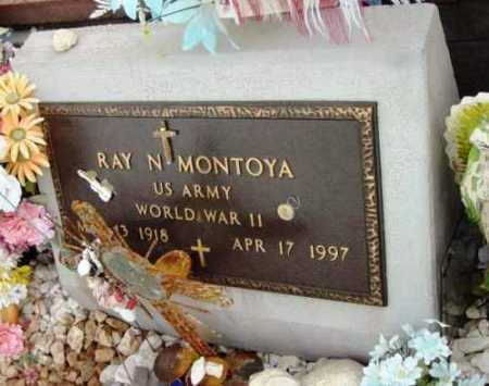 MONTOYA, RAY N. - Yavapai County, Arizona | RAY N. MONTOYA - Arizona Gravestone Photos