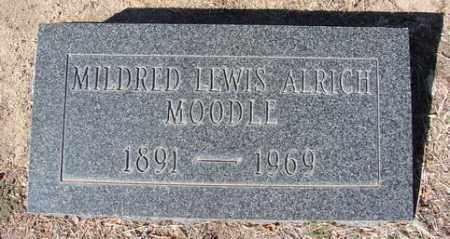 MOODLE, MILDRED LEWIS ALRICH - Yavapai County, Arizona | MILDRED LEWIS ALRICH MOODLE - Arizona Gravestone Photos