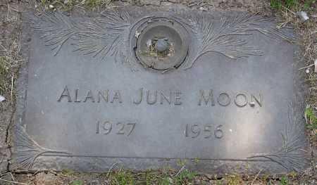 MOON, ALANA JUNE - Yavapai County, Arizona   ALANA JUNE MOON - Arizona Gravestone Photos