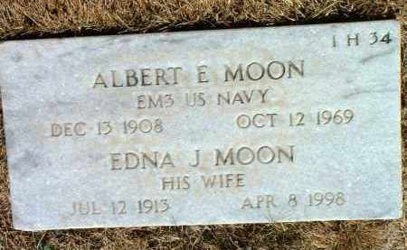 MOON, ALBERT E. - Yavapai County, Arizona | ALBERT E. MOON - Arizona Gravestone Photos